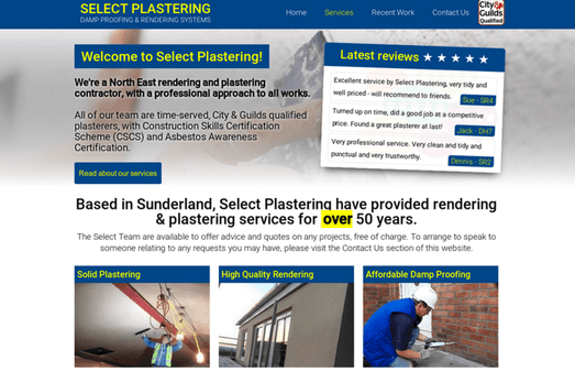 Select Plastering